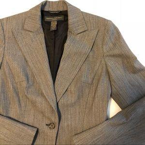 Banana Republic jacket blazer size 0 gray button